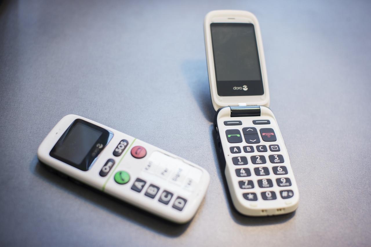 Forenklede Doro mobiltelefoner