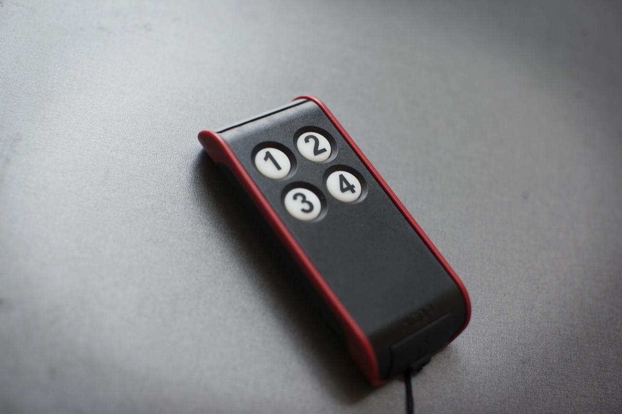 Enkel fjernkontroll med få knapper