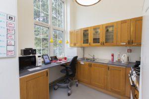 Bilde av kjøkken på Almas hus
