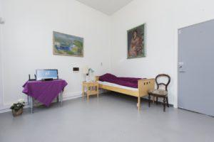 Bilde av soverom på Almas hus