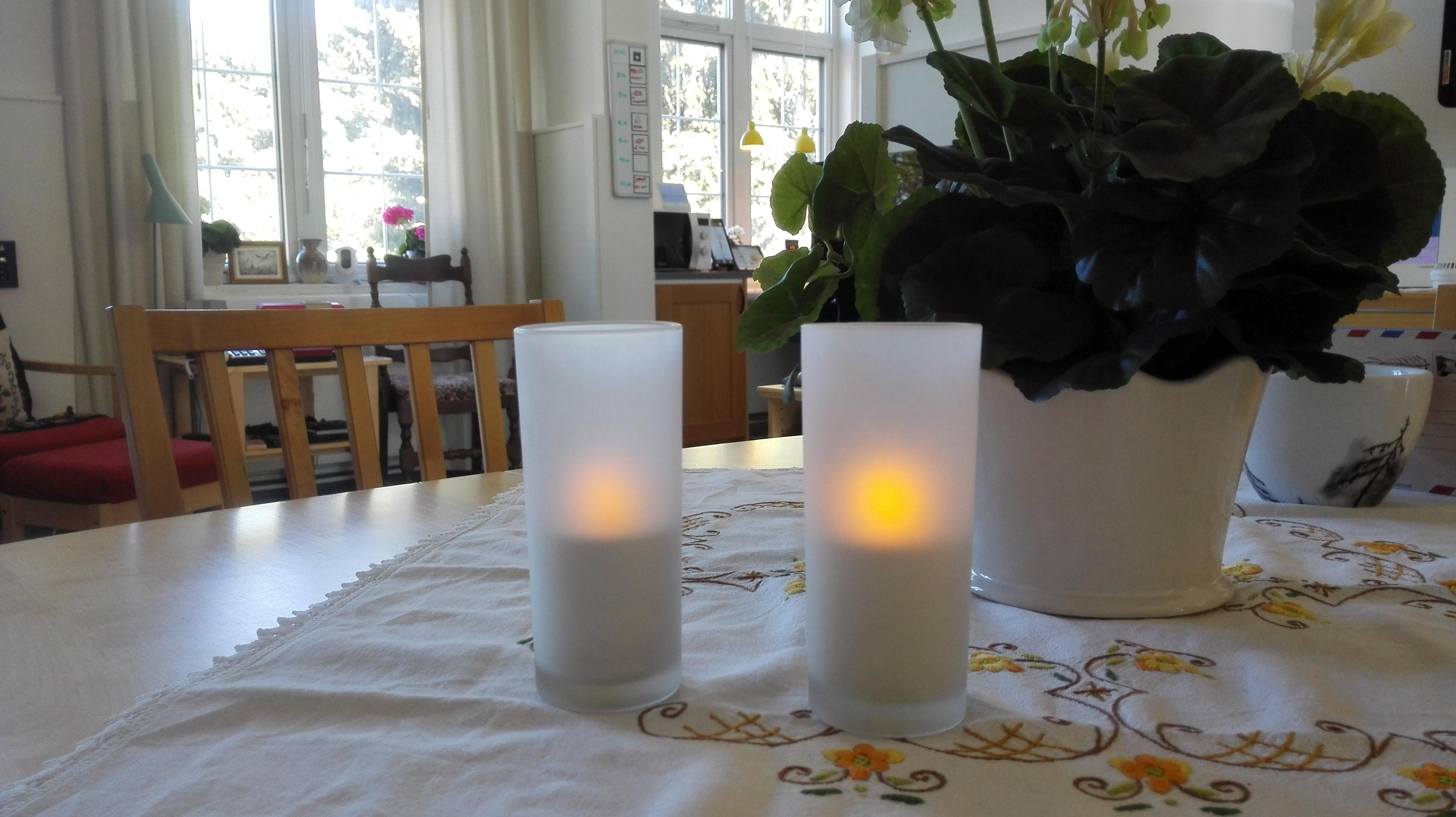 Elektriske stearinlys