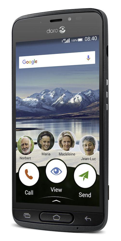 EziSmart app til smarttelefon som forenkler den og tastatur som er lettere å bruke hvis du skjelver