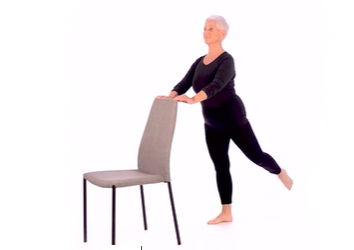 Øvelser, både sittende og stående